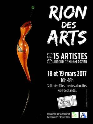 Affiche rion des arts 2017